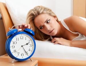 Schlafprobleme, schlaflos